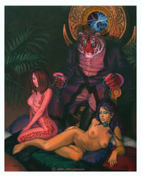 The Reins of Kahn by bluemystique