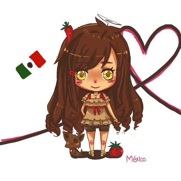 APH: Chibi-Mexico by NerdyJones