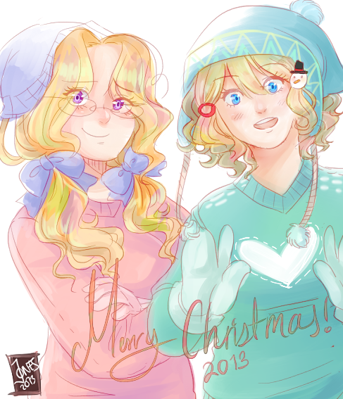 Merryyy early christmas hohohoh by NerdyJones