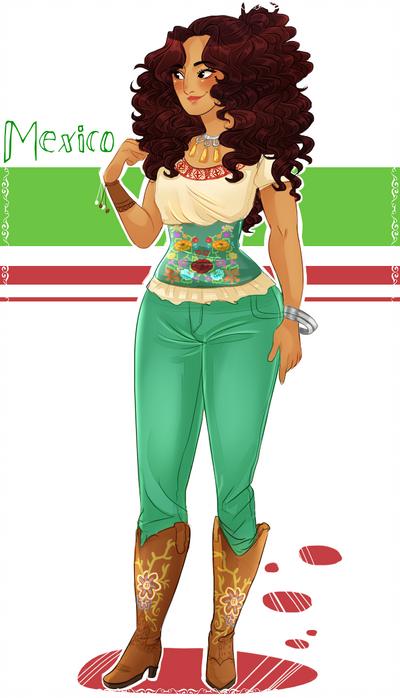Ficha: Maria Rodriguez Garcia/nyo Mexico del norte. Mexican_by_nerdyjones-d7ht4gz