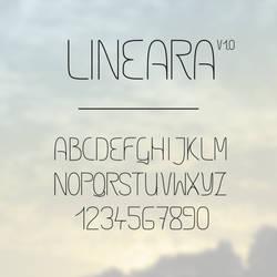 Font: Lineara v1.0 by kenazmedia