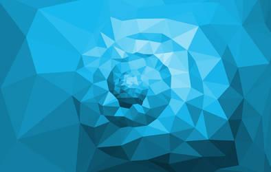 Polygon Snail by kenazmedia