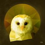 owl poster 30x30 dA by kenazmedia