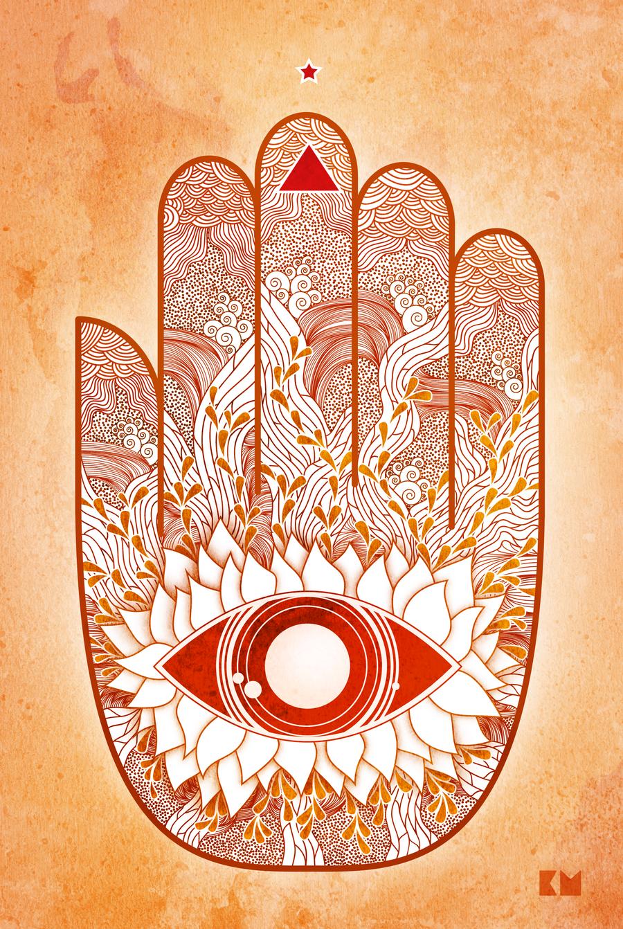 Hand Of Fatima By Kenazmedia
