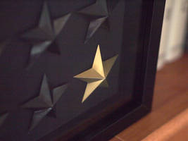 Stars behind glass by kenazmedia
