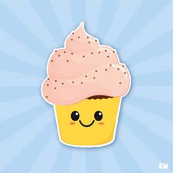 Cupcake by kenazmedia