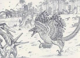 Archaeopteryx by HodariNundu