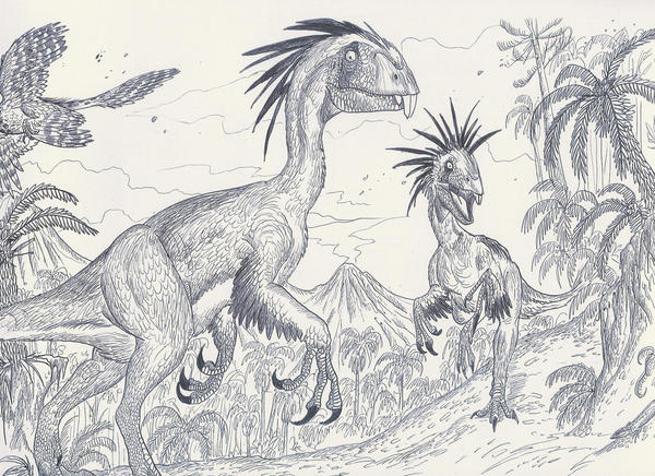 Incisivosaurus by HodariNundu