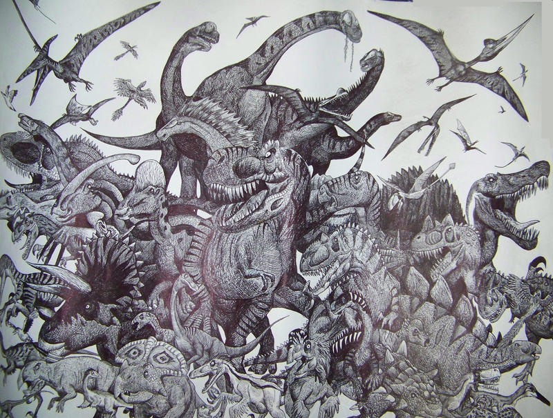 Dinosaur diversity by HodariNundu