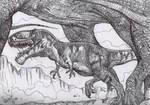 Giganotosaurus in action