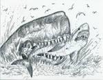 Leviathan eats Megalodon