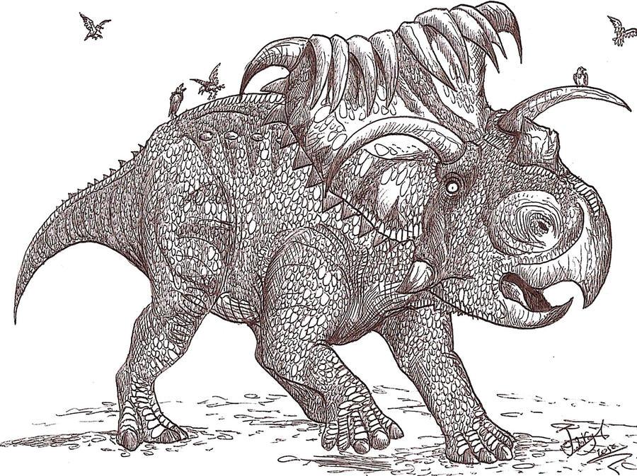 Kosmoceratops by HodariNundu