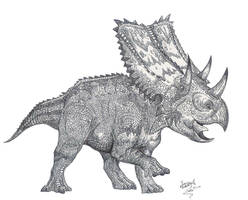 Chasmosaurus is back by HodariNundu