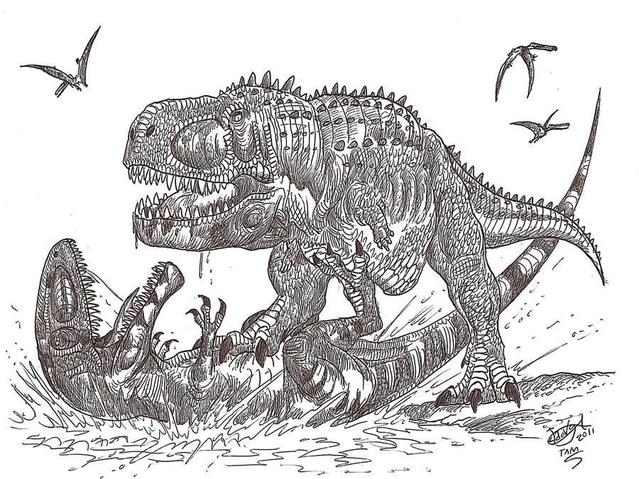 Ekrixinatosaurus by HodariNundu
