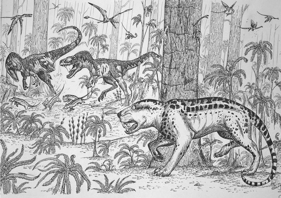 Dinosaur hunter? by HodariNundu