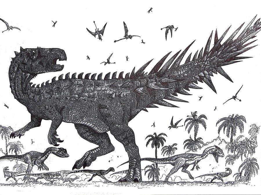 Sanpasaurus imperfectus by HodariNundu