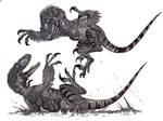 Deinonychus fight II