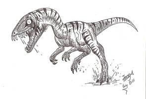 Daemonosaurus by HodariNundu