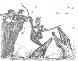 Jurassic Jaws by HodariNundu