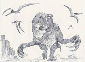 Appalachiosaurus by HodariNundu