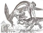 Orkoraptor vs Aerotitan