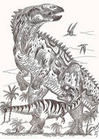 A tyrannosaur's worst nightmare by HodariNundu