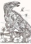 A tyrannosaur's worst nightmare