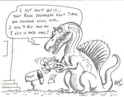 Spino's unfair life by HodariNundu
