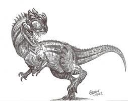 Dilophoceros (Hybrid dinosaur!) by HodariNundu