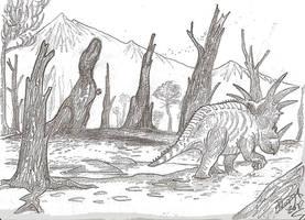 Tree-Rex by HodariNundu