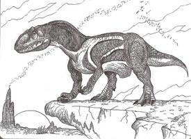 Xuanhanosaurus by HodariNundu