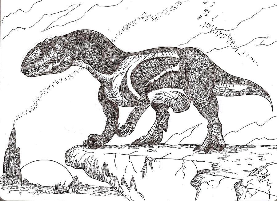 Xuanhanosaurus by HodariNundu on DeviantArt