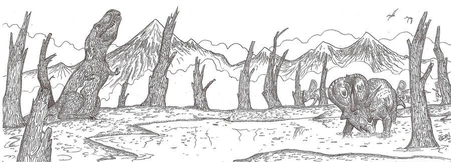 King of the Dead Forest by HodariNundu