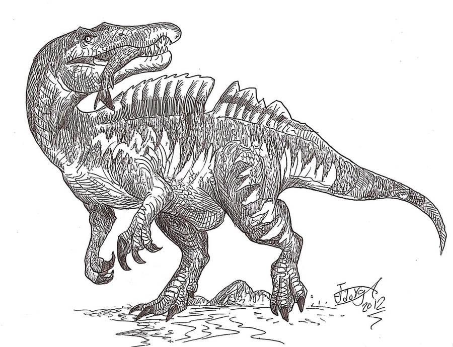 Ichthyovenator! by HodariNundu