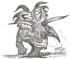 Medusaceratops by HodariNundu