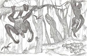 Little Forest of Prehistoric Horrors by HodariNundu