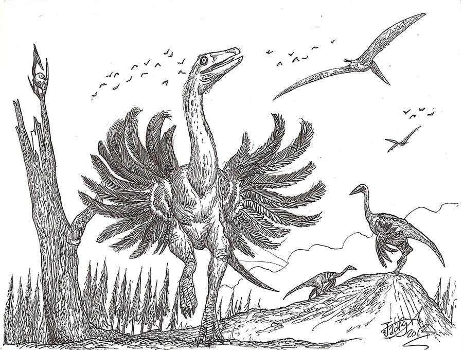 'Now I'm a bird mimic' by HodariNundu