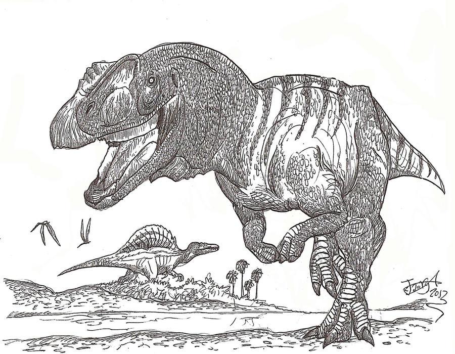A very special dinosaur by HodariNundu