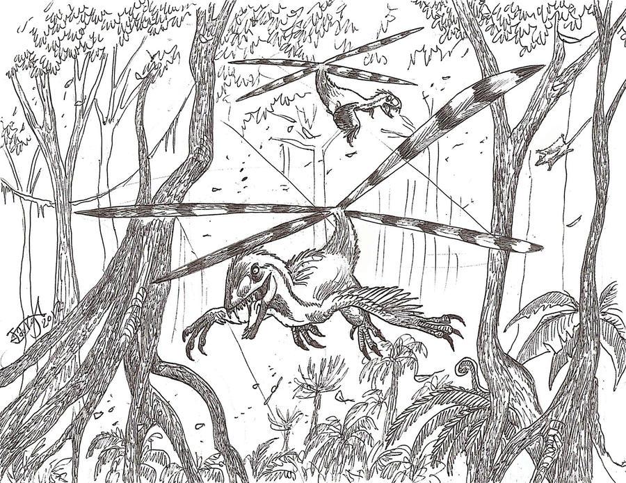 Dino-choppers by HodariNundu