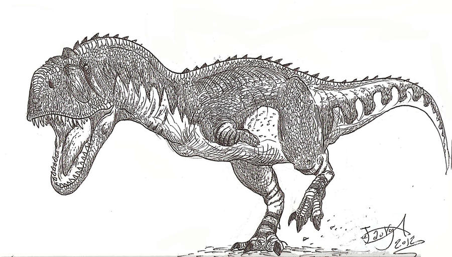 Majungasaurus by HodariNundu