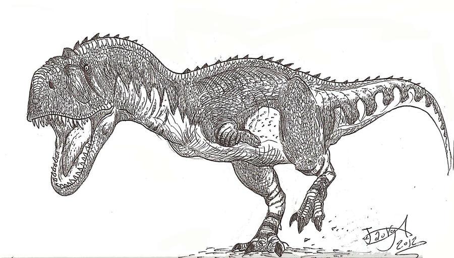 Majungasaurus by HodariNundu