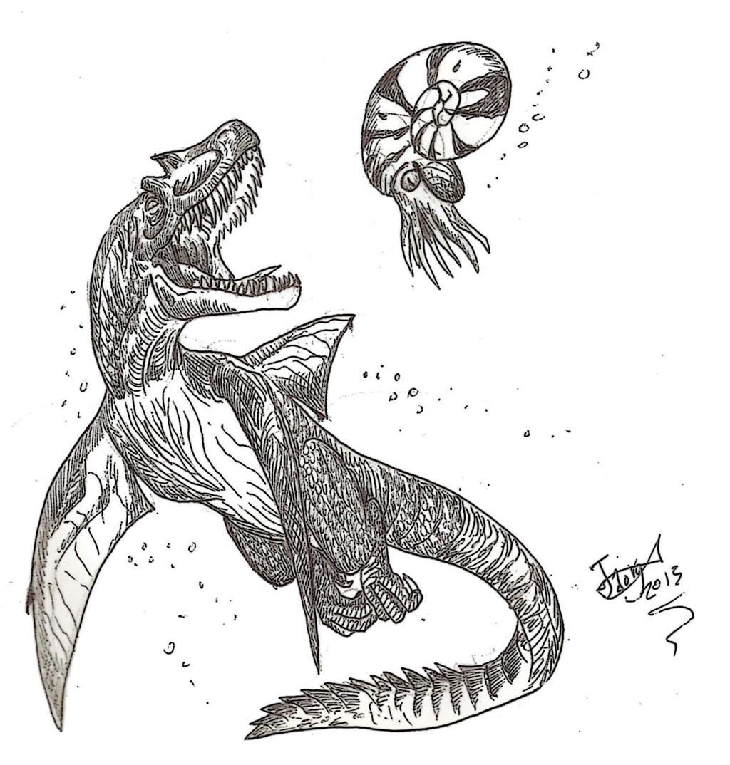 Tyrannomedon is back by HodariNundu
