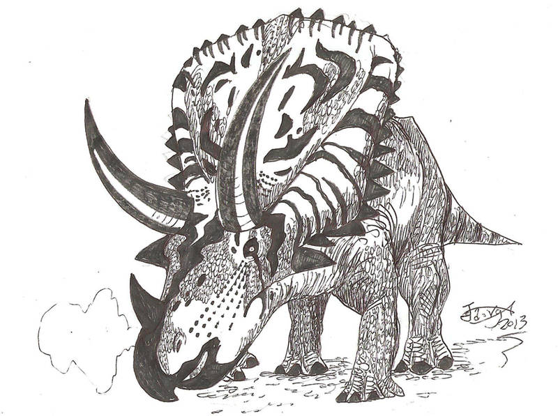 Judiceratops tigris by HodariNundu
