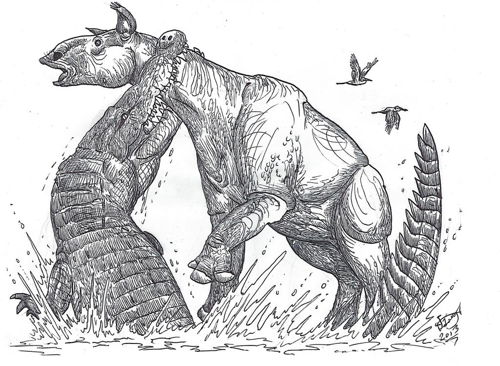Not so fast, mammals! Part II by HodariNundu