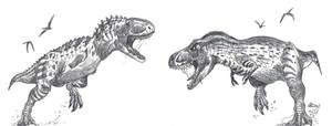 T-Rex sized abelisaur!!!