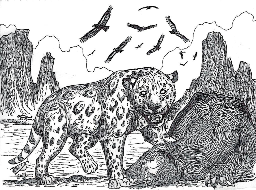 Patagonian Panther by HodariNundu