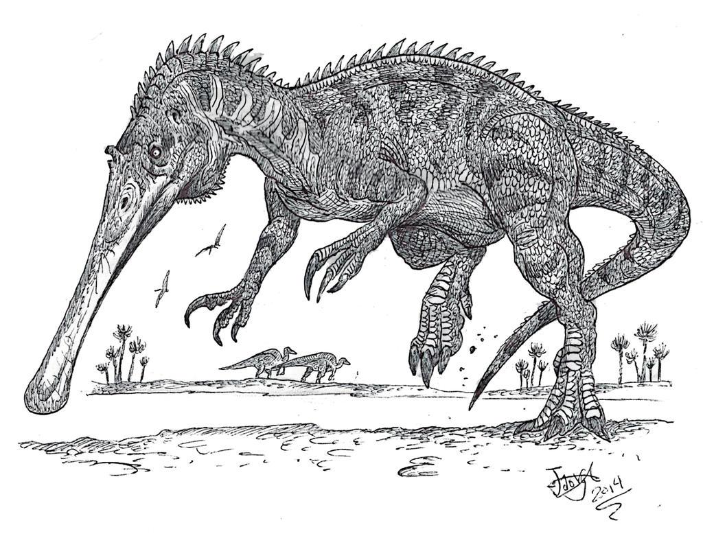 Plataleasaurus by HodariNundu