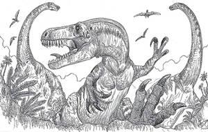 Torvosaurus gurneyi by HodariNundu