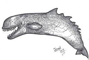 Leviathan's Back by HodariNundu