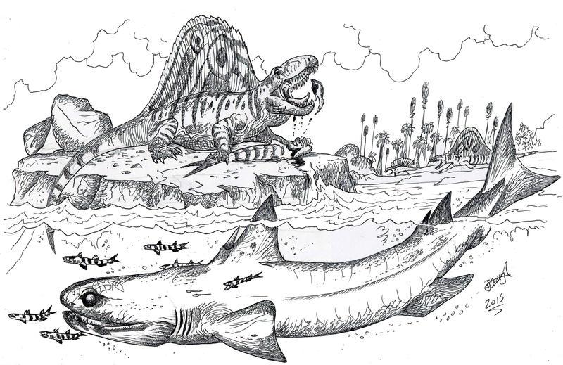 Permian Predators by HodariNundu
